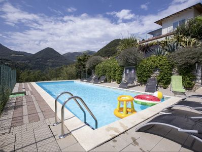 The stunning 10x4 gated pool shared between ONLY 4 apartments