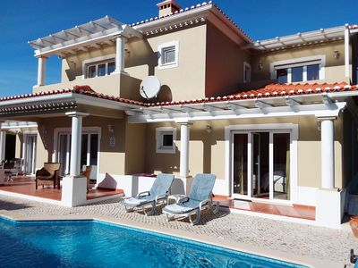 Photo for NEWLY REFURBISHED 2019: 4 Bedroom Villa with Heated Pool & WIFI in Praia Del Rey