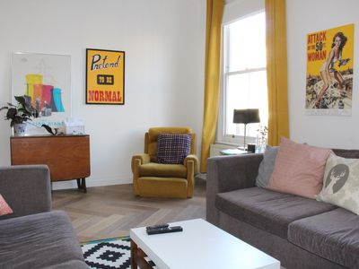 Photo for Bright spacious 2BR flat in Brixton, London