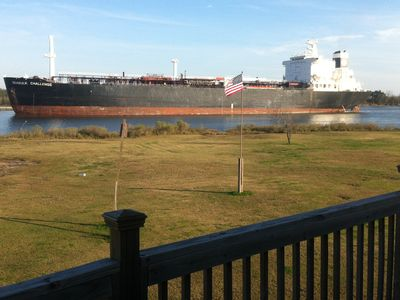 Photo for Waterfront Home on Calcasieu Ship Channel