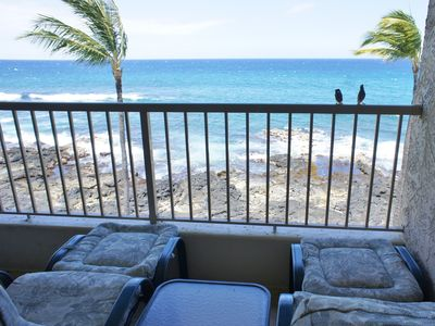 Photo for Ocean Front | AC | WIFI | Walk to Kona Town! | Starts $145/nt
