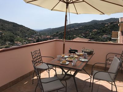 Photo for Dolcedo - 3 terraces - magnificent views - #Codice CITRA: 008030-LT-0034 #
