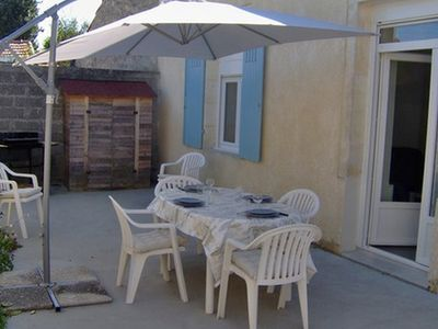 Photo for House of 42m² with terrace and garden furniture, chairs, barbecue