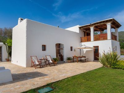 Photo for IBICENCA HOUSE VERY COZY WITH SWIMMING POOL AND GARDEN. License ETV-1421-E