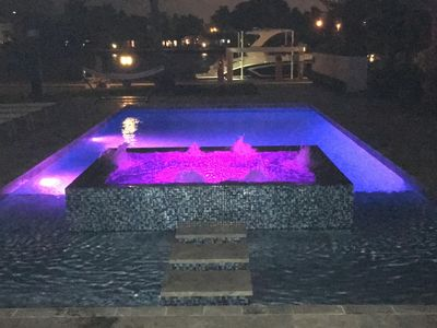 Hot Tub/pool at night