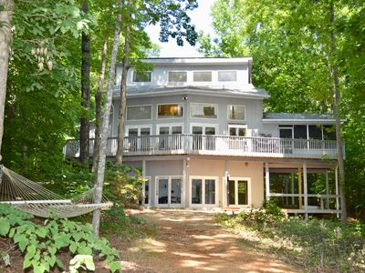 Photo for Dream Catcher  A rare Lake Anna waterfront home with access to both Public and Private side of Lake
