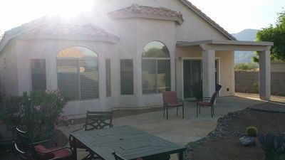 back view of home