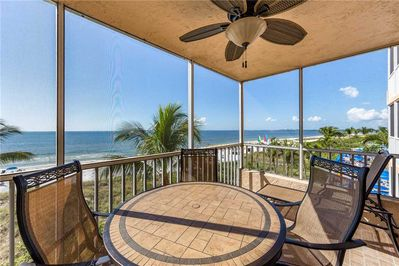 Now This ... Is A Vacation! - Who wouldn't want to relax with this view? This is the scenery you see in the movies. Book Estero Island Beach Villas 304 today and you can make it your dream come true!