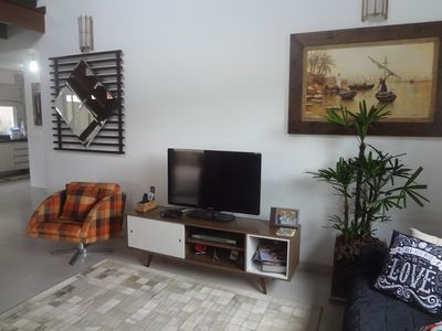 Photo for Excellent house condominium juquehy 3 suites with pool 200 mts beach