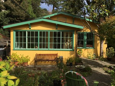 Photo for Charming Mill Valley Creekside Bungalow House