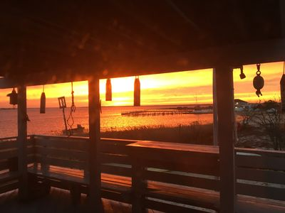 Photo for Incredibly Beautiful Sunset On Barnegat Bay!