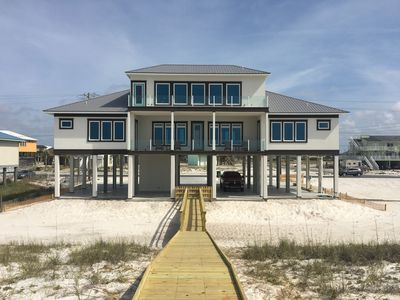Photo for Navarre Beach Front Home Sleeps 20