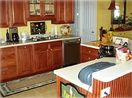 Spacious Kitchen is also a great gathering spot