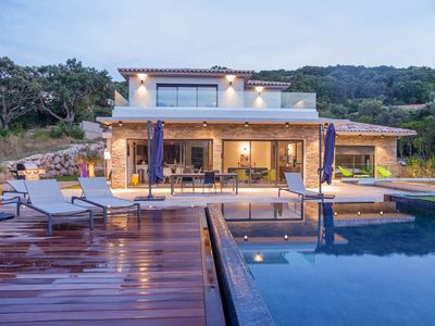Photo for Modern and full equipped  villa in Porto vecchio, between Sea and Mountain