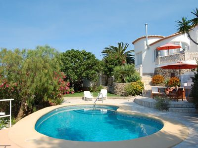 Photo for Villa in a top situation with wonderful ocean view and pool