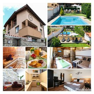 Photo for Cozy villa in the mountains with outside pool, stone BBQ and stunning views.