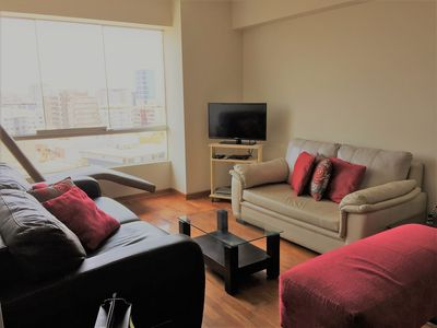 Photo for Balta Apartment 2 Bedrooms 15th Floor Miraflores
