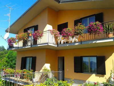 Photo for Clementina apartment near Verbania and Ghiffa