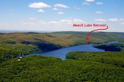 20 minutes from Down Town Ottawa - we are here on Meech Lake