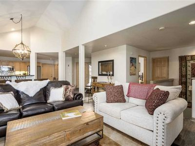 Photo for Spacious townhome with private ski shuttle and shared hot tub