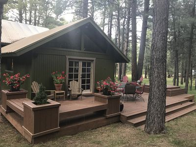 Brilliant Cabin Retreat Get Out Of The Heat Three Story Tree House Forest Lakes Estates Download Free Architecture Designs Rallybritishbridgeorg