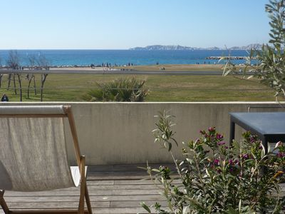 Photo for TOWNHOUSE BY THE SEA IN FRONT OF THE BEACH