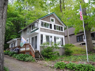 Photo for Sunny Side Up, a Four Season Lakefront Retreat with Dock on Findley Lake.