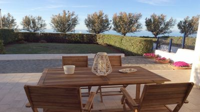 Photo for Choose Villa Lido Fontanelle with wonderful Sea View and Garden in Ostuni, Italy