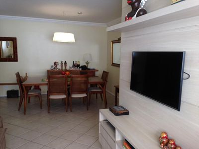 Photo for Beautiful and cozy apartment 150 meters from the Beiramar of Floripa