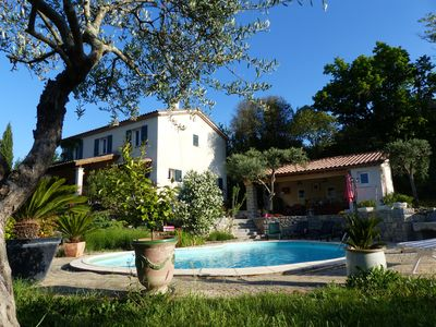 Photo for 165m2 villa with swimming pool, in the countryside, near the Cévennes