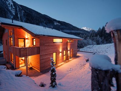 Photo for Wooden holiday home to the Stubai Glacier, garage, stone pine room