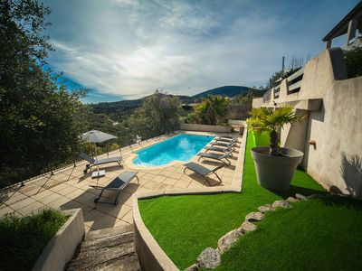 Photo for Magnificent view, villa 170 m2