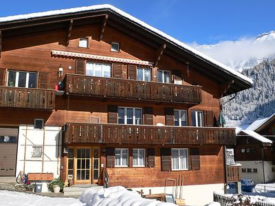 Photo for Lauterbrunnen Apartment, Sleeps 4 with WiFi