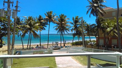 Photo for AMAZING BEACHFRONT PARADISE IN LUQUILLO BEACH ONE OF THE BEST IN THE ISLAND.