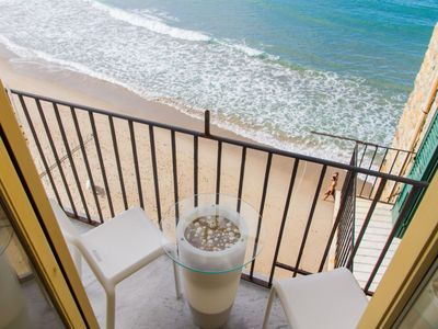 Photo for Balcone sul mare, a charming studio directly overlooking the sea.