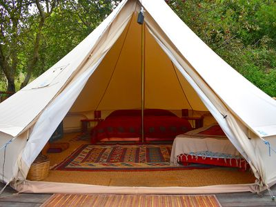 Photo for Glamping tent 3 with view
