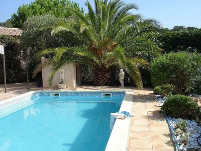Photo for House 1.4 km from the center of Sainte-Maxime with Parking, Washing machine, Air conditioning, Pool (329953)