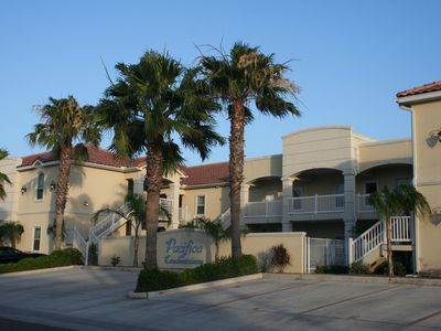 Photo for Gorgeous decorator condo! GROUND Floor, NEW RENTAL, short walk to beach