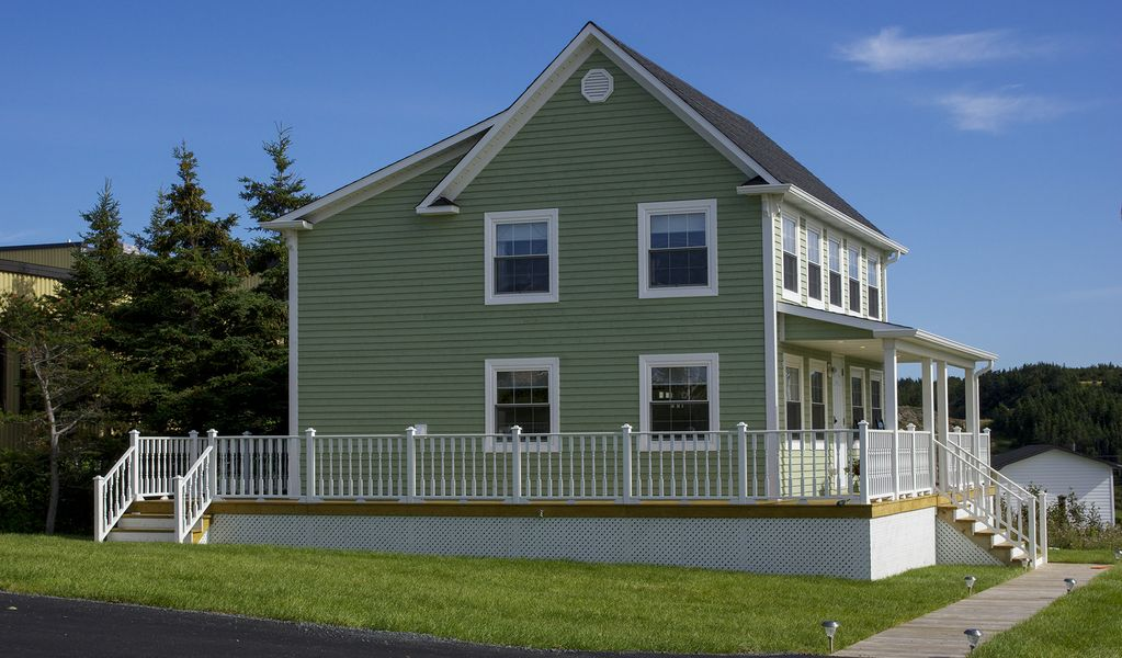 100 Year Old Saltbox Style Newfoundland Home With