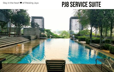 Photo for PJ8 Service Suite Near Train Station Pool View