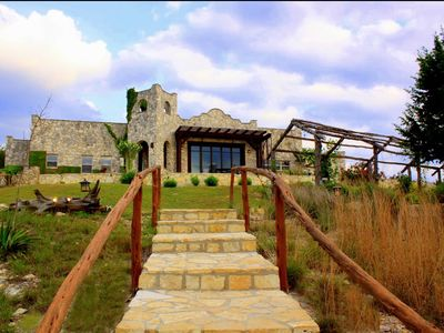 Photo for MILLION $$$ VIEWS! 50 Private Acres, Vineyards, Olives, Lavender + Pets Welcome!