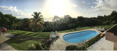 Photo for between sea and garden sun of the Caribbean