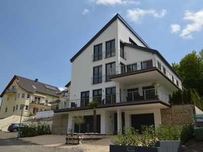 Photo for Comfortable detached house with garden, looking out over the Mosel and Cochem Castle.