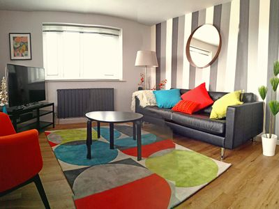Photo for Light, bright and super chic apartment- great for family stay.