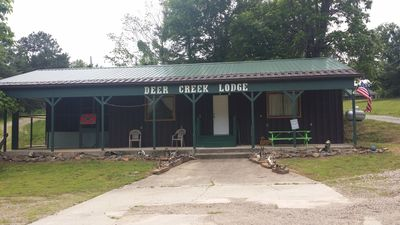DEER CREEK LODGE located 1/4 mile from beautiful Lake Ouachita