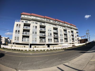 Photo for Beach Block End Unit,  Ocean Views From All Rooms!!