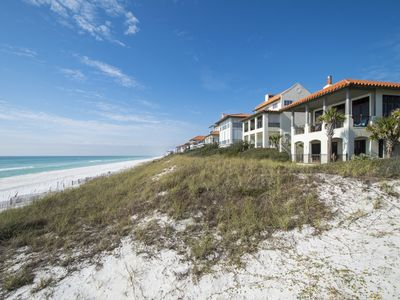 "Photo for Gulf front! Free Beach Chairs! Community Pool! Gated neighborhood!  ""Sea La Vie"""