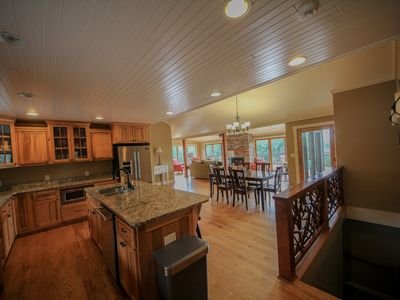 Photo for Beautiful luxury home between Boone and Blowing Rock, NC with amazing views