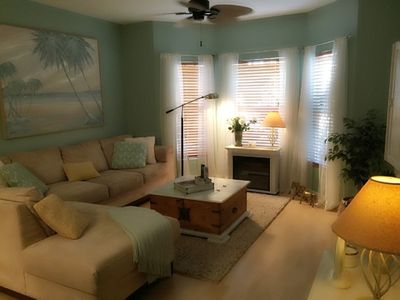 Photo for Beautifully Furnished, 4 Miles To Beach, Second Floor Condo In Gated Comm.