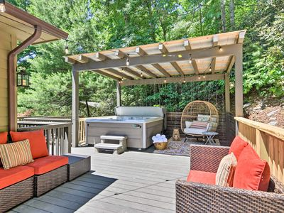 Photo for NEW! Home w/Hot Tub 5 Min to D-town Black Mountain